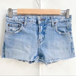 Vintage l.e.i. Cut Off Denim Jean Shorts